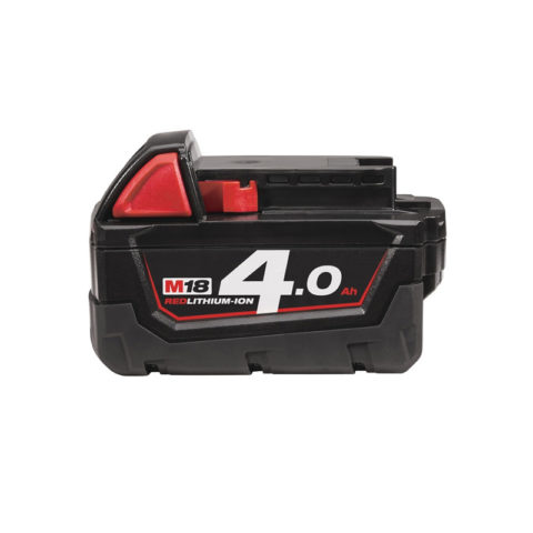 Milwaukee M18B4 18V M18 Fuel Red Lithium Ion batterij 4.0Ah-1