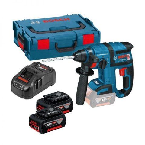 Bosch GBH 18 V-EC 18V borstelloze SDS + boorhamer in L-Boxx 0611904003